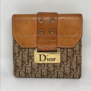 Dior bifold wallet